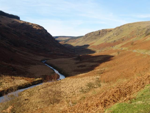 Slide 8 - Welsh valley landscape large format